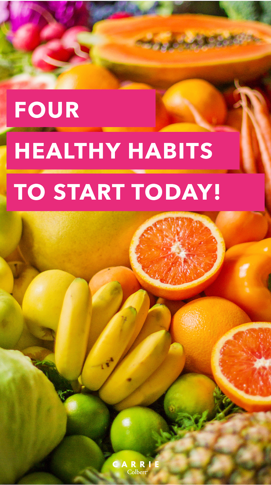new year, whole me 4 healthy habits