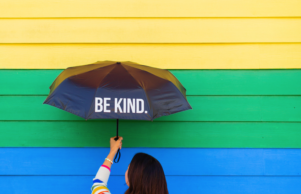 Be Kind umbrella